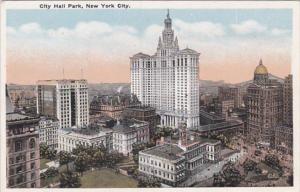 New York City City Hall Park