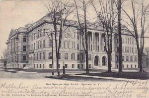 New Syracuse High School, Syracuse, New York, PU-1908