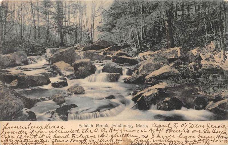 Massachusetts  Fitchburg,   Falulah Brook