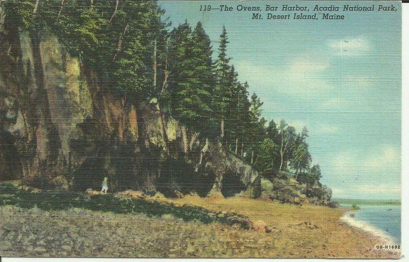 Mt. Desert Island, Maine, The Ovens, Bar Harbor, Acadia National Park