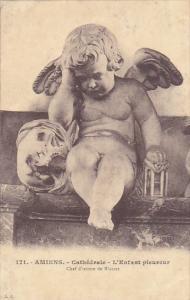 France Amiens Cathedrale L'Enfant pleureur