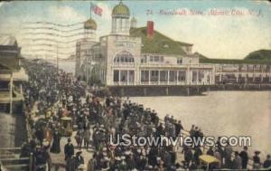 Boardwalk Atlantic City NJ 1911