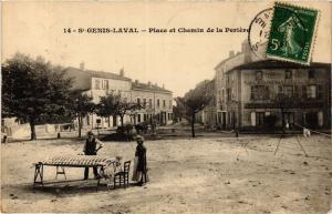 CPA St-GENIS-Laval - Place et Chemin de la Periere (367866)