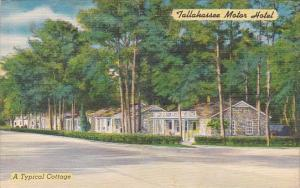 Florida Tallahassee Motor Hotel A Typical Cottage