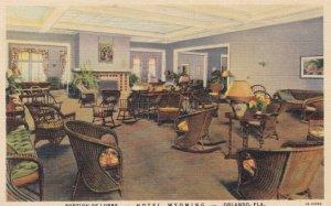 ORLANDO , Florida , 1930-40s ; Hotel Wyoming , Lobby