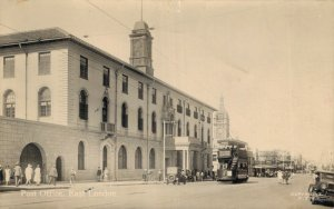 South Africa - Post Office East London RPPC 04.44