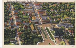 Delaware Dover Loockerman Street From The Air