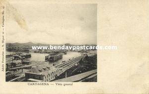 colombia, CARTAGENA, Vista General (1899) Adolfo Fernandez, No. 15