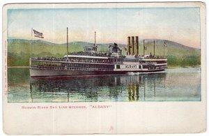 Hudson River Day Line Steamer Albany