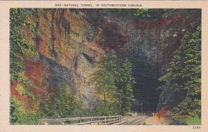 Virginia Natural Tunnel In Southwestern Virginia