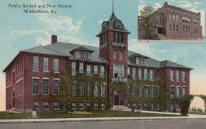 MIDDLESBORO , Kentucky , 1900-10s ; Public School & New Annex