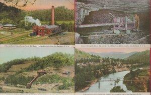 Lot of 4 Kentucky KY Postcards - HL-07
