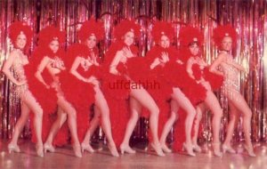 SEVEN SHOWGIRLS on stage LAS VEGAS, NV Entertainment capital of the world