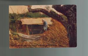 1917 USA WW 1 Picture Postcard Cover Trenches Protected from German Poison Gas