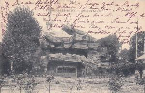 ENGHIEN LES BAINS, Val D'Oise, France, PU-1906; Grotte Du Casino