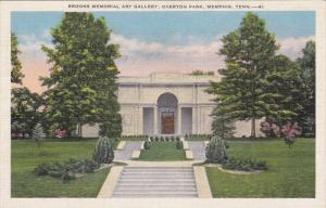 Brooks Memorial Art Gallery, Overton Park, Memphis, Tennessee, 30-40s