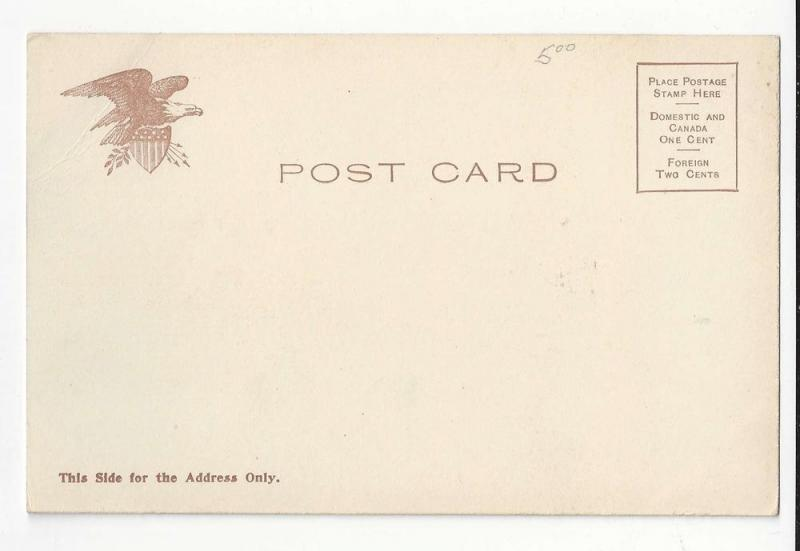 Bunker Hill Monument Boston Mass MA Vntg UDB Postcard c 1905