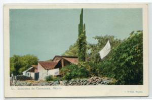 Surburbios de Cuernavaca Mexico 1907c postcard