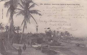 Senegal Saint-Louis Bords du fleuve a Guet N'Dar 1906