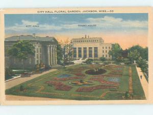 Linen Like CITY HALL SCENE Jackson Mississippi MS hs6367