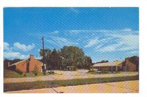Exterior, Capitol Motel, Williamsburg,  Virginia,  40-60s