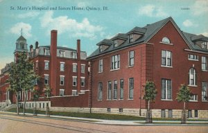 QUINCEY , Illinois , 1910s ; St Mary's Hospital & sisters Home