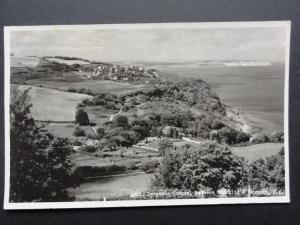 Isle of Wight: Luccombe Common Between Shanklin & Ventnor - RP Postcard by Nigh