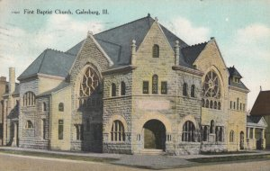 GALESBURG , Illinois , 00-10s ; First Baptist Church