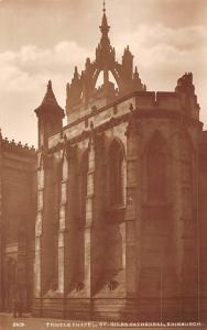 Edinburgh Thistle Chapel St Giles Cathedral