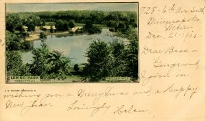 MN - Minneapolis. Loring Park  (Private Mailing Card)