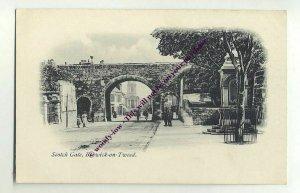 tp1283 - Scotch Gate , Berwick-on-Tweed , Northumberland - postcard