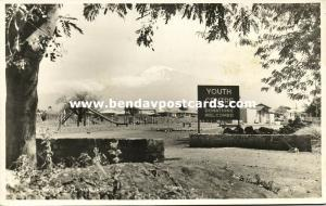 tanzania, TANGANYIKA, Mount Kilimanjaro Volcano, Youth Centre (1950s) RPPC