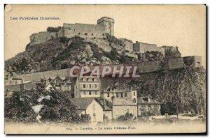 Old Postcard Lourdes Le Vieux Chateau Fort