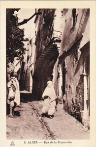 Algeria Alger Rue de la Haute-ville