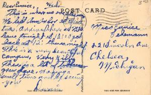 Amherst~University of Massachusetts~Thatcher Hall~Hilly; Lots of Tobacco~1928 PC