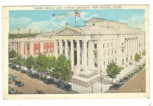 Court House And Public Library, New Haven, Connecticut, PU-1929