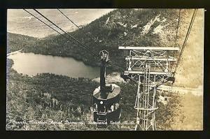 Franconia Notch, New Hampshire/NH Glossy Postcard, Cannon Mountain Tramway