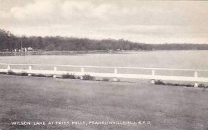 New Jersey Franklinville Wilson Lake At Fries Mills