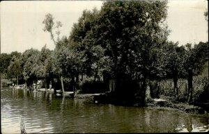 IMR00326 romania prahova campina to identify lake foto olteanu real photo 9x14