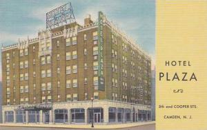 New Jersey Camden Hotel Plaza 5th And Cooper Streets