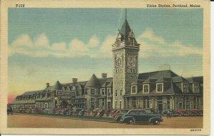 Portland, Maine, Union Station