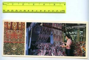 228806 Tajik Leninabad Khujand carpets shop shelkokombinat
