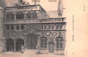 Chapelle du Saint Sang Bruges Belgium Unused