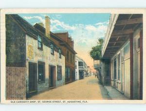 W-Border OLD CURIOSITY SHOP St. Augustine Florida FL hp2926