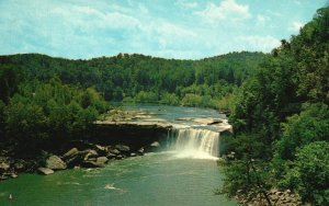 Vintage Postcard Cumberland Falls State Park Whitley County Kentucky KY