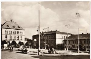 Czech Republic, VARNSDORF, real photo, used Postcard