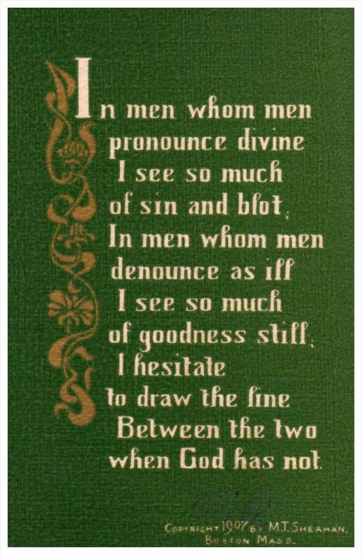 Poem by M.T.Sherman