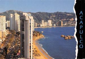 Mexico Acapulco La Bahia de Acapulca y La Costera M. Aleman