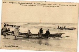 CPA AK Senegal Fortier 620.Sénégal-Saint Louis-Guet N'Dar (235286)