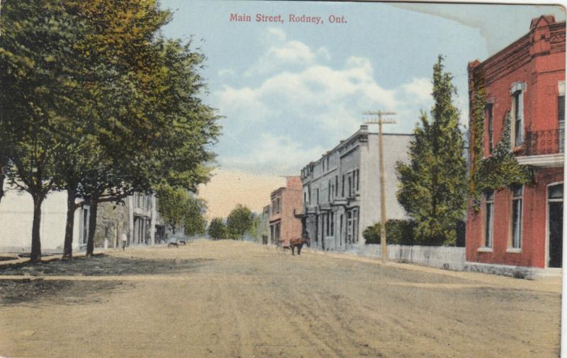 RODNEY , Ontario , Canada , 1900-10s ; Main Street